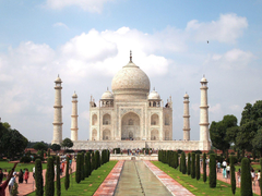 India Tourist Place Taj Mahal Agra Wallpapers