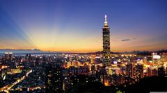 Taipei 101 HD desktop wallpapers Widescreen High Definition