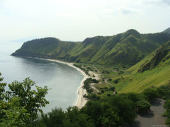 Um pouco da beleza natural de Díli Timor