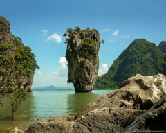 James Bond Island Thailand Wallpapers Desktop Backgrounds