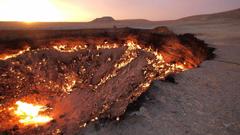 The door to hell Derweze Turkmenistan