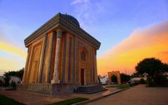 Religious Abu Mansur Mosque Samarkand Uzbekistan Islam Beautiful