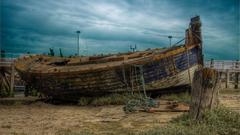 Abandoned Ships In Desert Uzbekistan Wallpapers