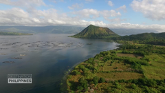 Taal Volcano in the Philippines Danger beauty