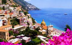 Amalfi Coast Beautiful City Wallpapers HD