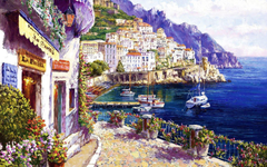 Pretty Amalfi Coast Italy wallpapers
