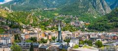 The Andorra la Vella city photos and hotels