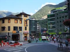 Andorra la Vella and the rest of Andorra
