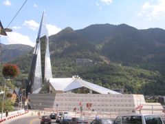 The Andorra la Vella city photos and hotels