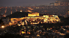 Parthenon At Night Athens Greece Wallpapers Wide or HD