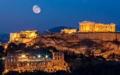 Acropolis Hill Athens 4K UltraHD Wallpapers