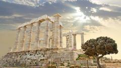 Greek Temple Wallpapers