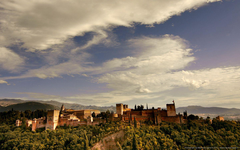 Wallpaper Alhambra Palace Granada