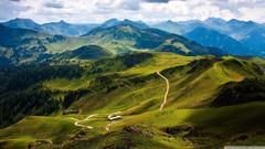 Kitzbuhel Mountain View Austria Europe HD desktop wallpapers