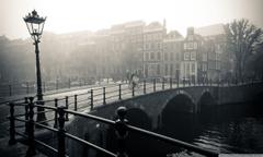 Misty Amsterdam HD desktop wallpapers Widescreen High