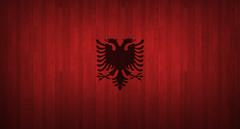 Albanian Wood Flag Wallpapers