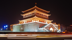 Bell Tower Of Xian China 4K HD Desktop Wallpapers for 4K Ultra HD