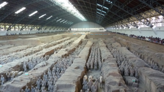 Terracotta Warriors at Qin Shi Huangdi s mausoleum Xi an
