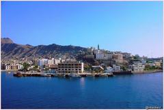 Beaches Tawahi Steamer Point Aden Port Yemen Adn Portt