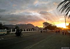 Sunsets Aden South Photography Beaches Khormaksar Sunset Nature