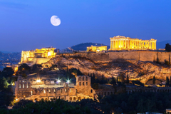 The Greek Travelling Destination Acropolis of Athens Greece