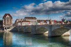 basel Cityscape Switzerland Bridge Wallpapers HD Desktop and