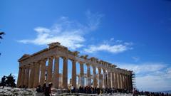HD wallpaper building greece ancient greek temple column