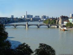 Desktop Wallpapers Natural Backgrounds Rhine Basel Switzerland