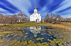minsk belarus the holy virgin church belarus tree nature HD wallpapers