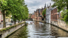 The Groenerei Canal in Bruges