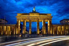 Wallpapers Brandenburg Gate Berlin Germany 5K World