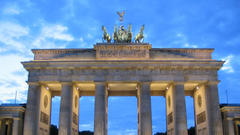 Full HD Wallpapers brandenburg gate historic monument berlin Desktop