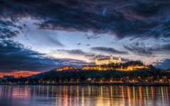 Bratislava Castle Night