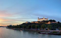 Slovakia Bratislava Sky Cities