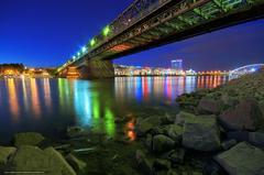 wallpapers Bratislava Apollo Bridge Slovakia
