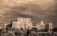 Parliament House in Bucharest Romania widescreen wallpapers