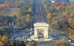 Bucharest Arch of Triumph 1920x1200 Wallpapers Bucharest 1920x1200