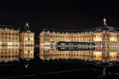 Night Lights in Bordeaux France wallpapers and image