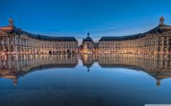 Place De La Bourse In Bordeaux France 4K HD Desktop Wallpapers