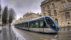Tram in Bordeaux France wallpapers and image