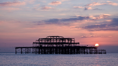 West Pier In Brighton England Wallpapers