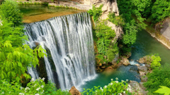 Bosnia Tag wallpapers Greenery Magnificent Rocks Forest Lovely