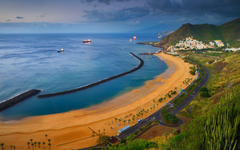 Beach in Tenerife in the Canary Islands Full HD Wallpapers and