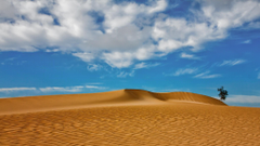 desert landscape dune sand clouds canary islands wallpapers and
