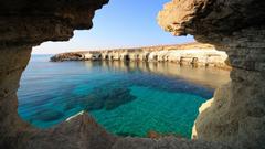 Ocean Nice Ocean View Mediterranean Greek Holiday Cyprus Sea