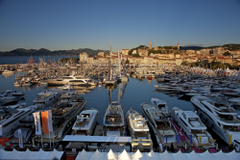 Boats in the port of Cannes France wallpapers and image