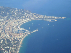 Cannes view from above desktop wallpaper pictures Cannes view from