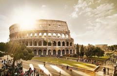 The Roman Colosseum Amphitheatre Tablet Phone Wallpaper Backgrounds