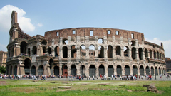 The colosseum rome hd wallpapers Stock Image
