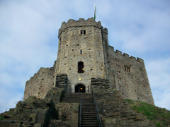 Cardiff Castle Wales Wallpapers